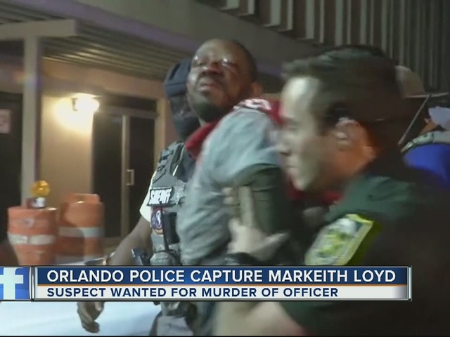 Orlando police capture Markeith Loyd, wanted for murder of officer