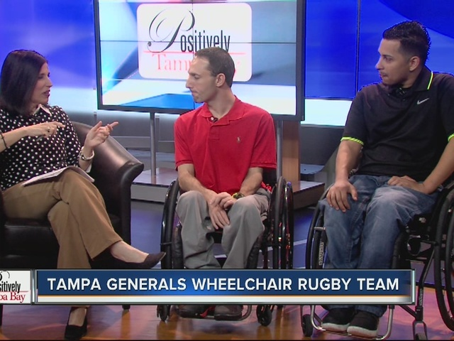 Positively Tampa Bay: Tampa Generals Wheelchair Rugby Team
