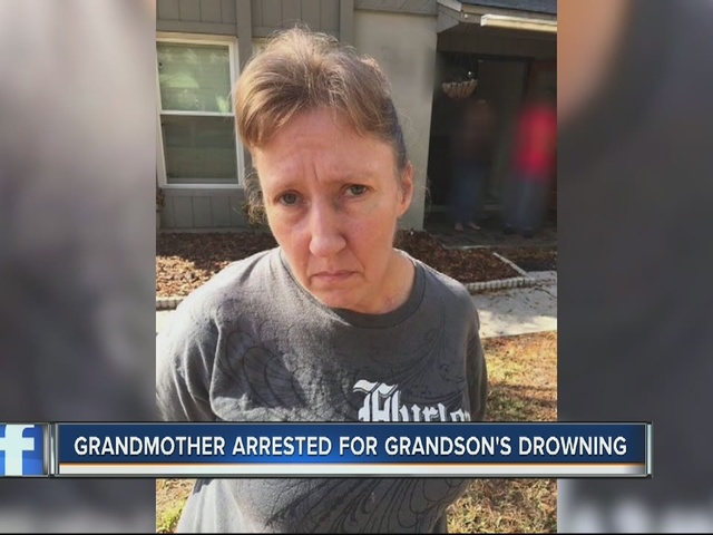 Woman arrested in drowning of 4-month-old