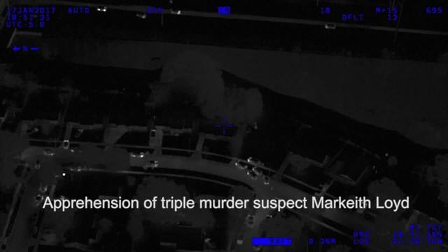 Orlando Police Department has released infrared video of officers finding and taking down Markeith Loyd.                      WFTS