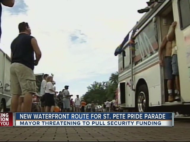 New waterfront route for St. Pete parade, Mayor threatening to pull funding