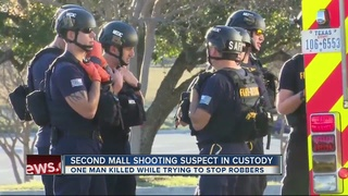 2 suspects arrested in San Antonio mall shooting