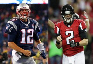 Super Bowl: Brady's Patriots vs. Ryan's Falcons