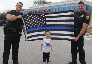 Clearwater police surprise 4YO boy