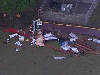 Palm Beach Co. HS closed for 'apparent tornado'