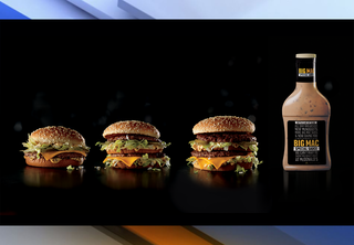 McDonald's giving away bottles of special sauce