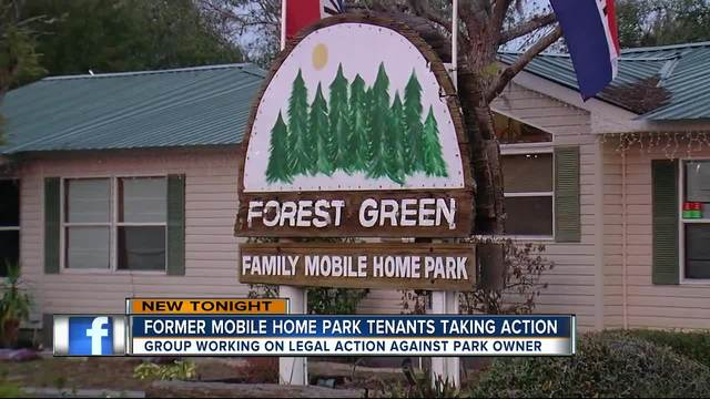 Former Mobile Home Park Tenants Taking Action After Alleged Harassment Intimidation