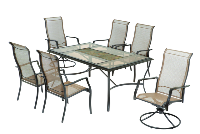 The Chairs Were Sold As A Pair For $190 And As Part Of A Seven Piece Patio  Set With Accompanying Tables For $500 At Home Depot Stores Nationwide And  Online ...