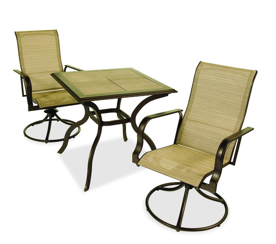 ... Chairs As Well As Martha Stewart Living Branded Cardona, Grand Bank And  Wellington Swivel Patio Chairs. The Chairs Are Made Of Aluminum And Steel  With A ...