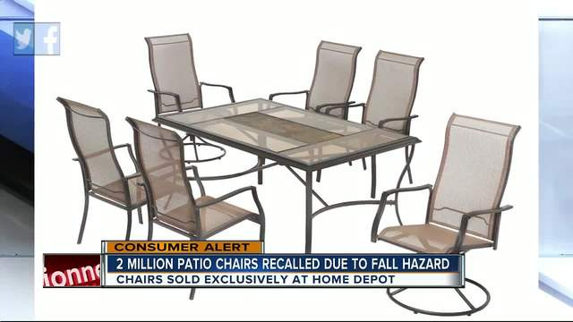 casual living worldwide recalls swivel patio chairs due to fall hazard - Swivel Patio Chairs