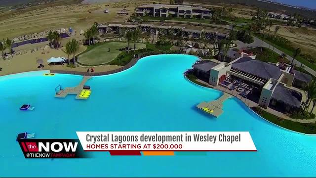 New Crystal Lagoon Makes Way In Wesley Chapel Fox 4 Now