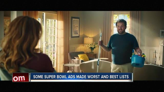 Some Super Bowl ads made worst and best lists