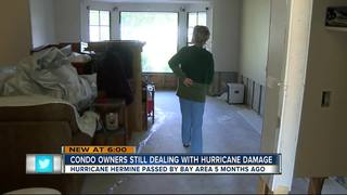 Condo owners still dealing with Hurricane damage