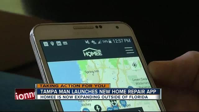 Home Repair App Design