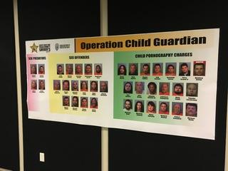 42 arrested in child porn, sex offender sting