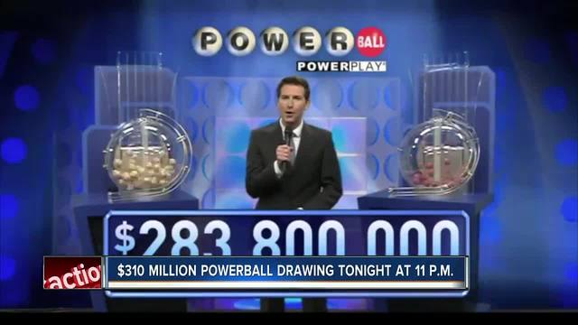 Live Powerball results for $310M jackpot drawing on 02/15/17