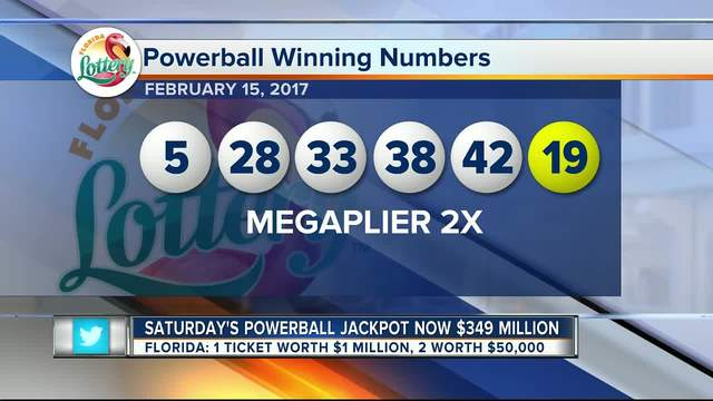 Powerball jackpot now at $310M