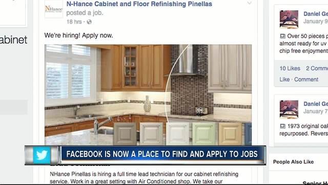 Facebook creates job search feature