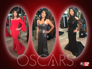 VOTE: Sarina Fazan's Oscar gown, goes to charity