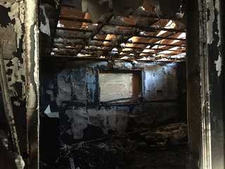 Police: Same home broken into twice, set on fire