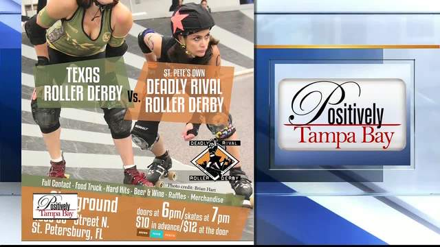 Positively Tampa Bay- Roller Derby