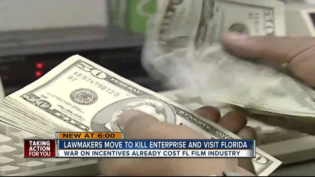 Lawmakers move to kill Enterprise and Visit Florida