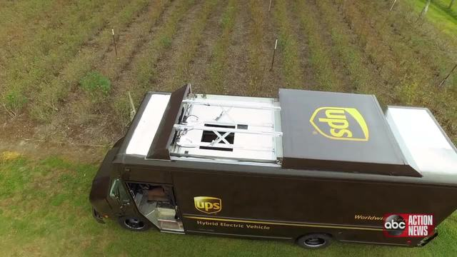 UPS Tests Drone Delivery in 360-Degree Video