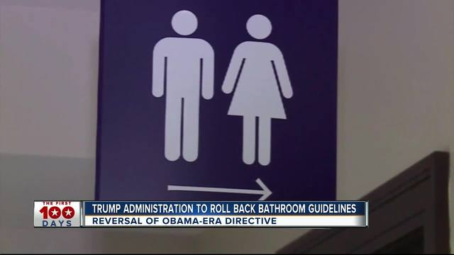 Trump Administration to roll back bathroom guidelines