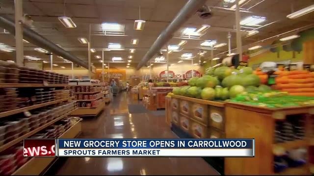 Sprouts Farmers Market opens in Carrollwood on Wednesday