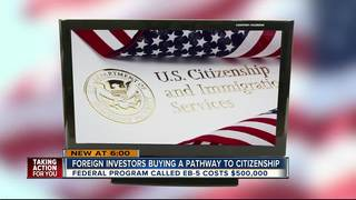 Foreign investors buying pathway to citizenship