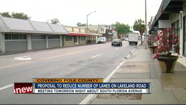 Lakeland considering changes to S- Florida Ave-