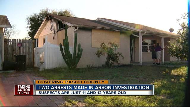 Pasco County deputies arrest two for robbery-arson of 911 dispatch…