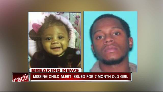MISSING CHILD ALERT issued for 7-month-old girl out of Kissimmee
