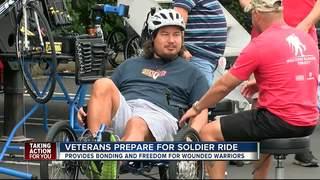 Veterans prepare to bike 30-mile Soldier Ride