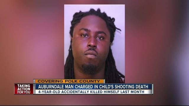Auburndale man arrested in death of 4-year-old boy in January