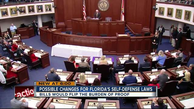 Major Changes in the Works for Florida-s Self-Defense -Burden of Proof-