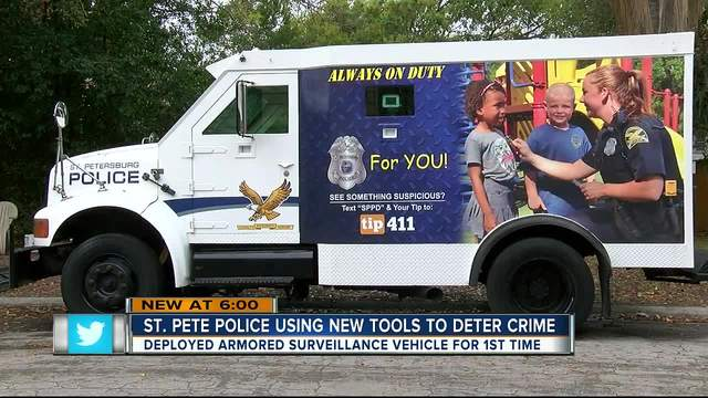 St- Pete Police using new tools to catch crooks