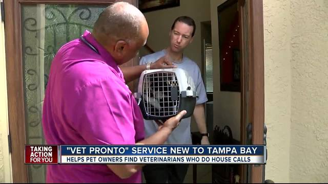 New site makes vet housecalls easier in Tampa Bay Area