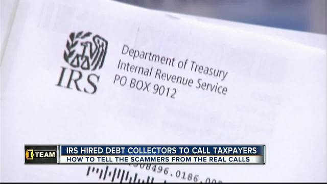 IRS hires debt collectors to call taxpayers- how to determine scammers…