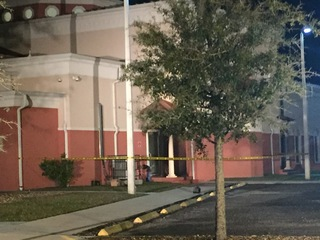 Fire outside of Florida mosque investigated