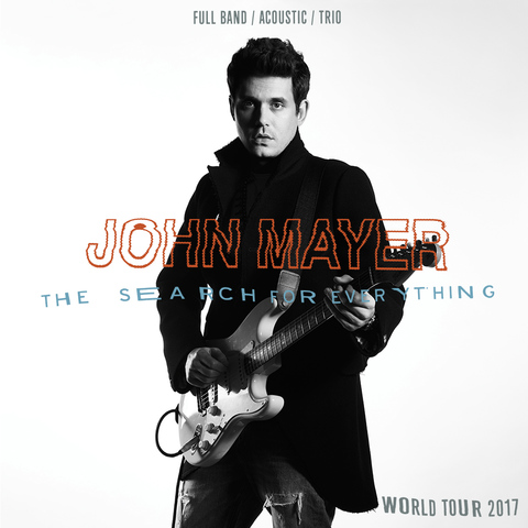 John Mayer to perform at AT&T Center, adds summer tour leg
