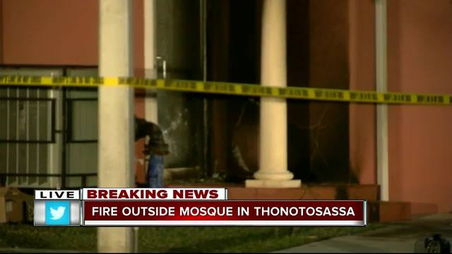 Tampa mosque fire was arson, mayor confirms