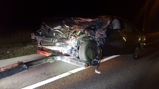 Two minor injuries in wrong-way DUI crash