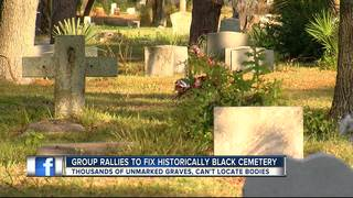 Group rallies to fix historically black cemetery