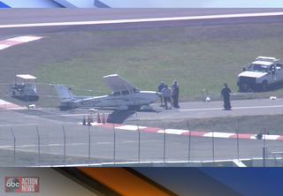 Plane crashes in front of St. Pete airport tower