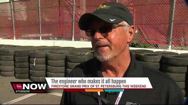 He's the man who makes the St. Petersburg Grand Prix run like a well-oiled machine