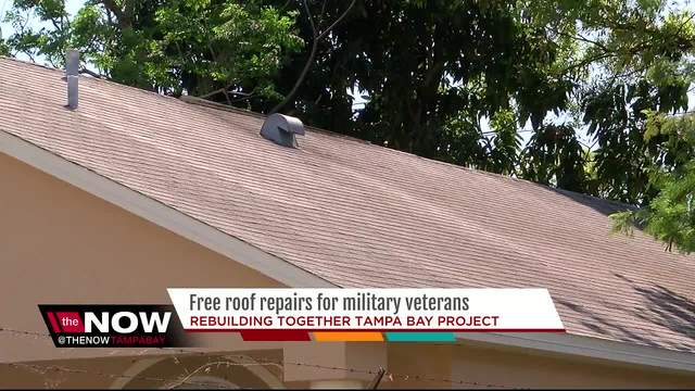Local Non Profit Wants To Give Veterans Free, New Roofs. On Average Repairs  Cost ...
