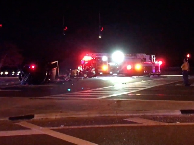 One dead, 7 injured in alcohol-related traffic crash at McMullen Booth and Curlew roads