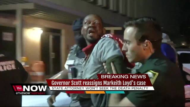 State Will Not Seek Death Penalty For Accused Cop Killer Markeith Loyd,  Gov. Reassigns Case   Abcactionnews.com WFTS TV