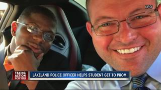 LPD officer makes sure student attends prom